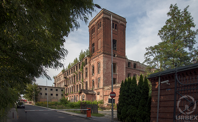 Industrial Architecture in Poland – Abandoned Factory Uniontex
