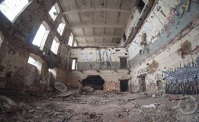 Urbex łódź Urbex Polska Abandoned Factory Uniontex
