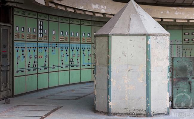 Bunker in Abandoned Power Plant in Budapest Kelenfold