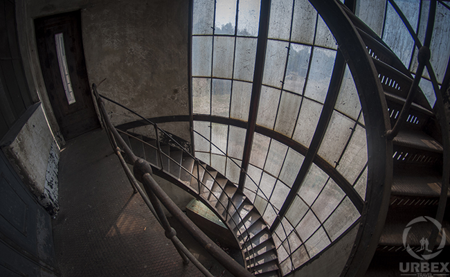 Crazystairs in Abandoned Kelenföld Power Plant
