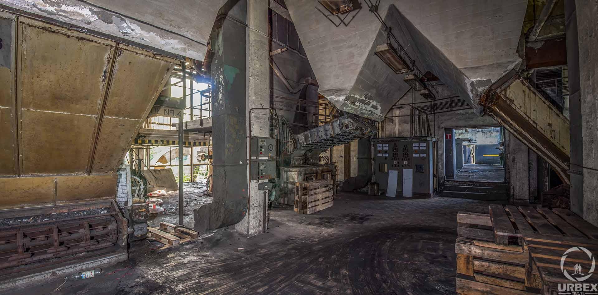 Abandoned Boiler Room in Zielonka
