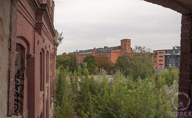 view from abandoned factory uniontex