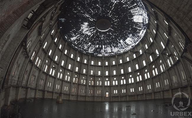 urbex warsaw abandoned colosseum gasworks