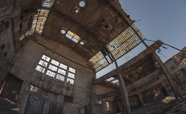 urbex in an abandoned factory