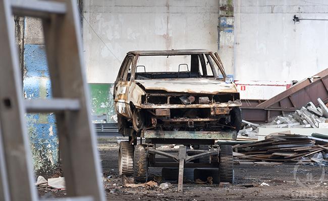 urbex abandoned factory