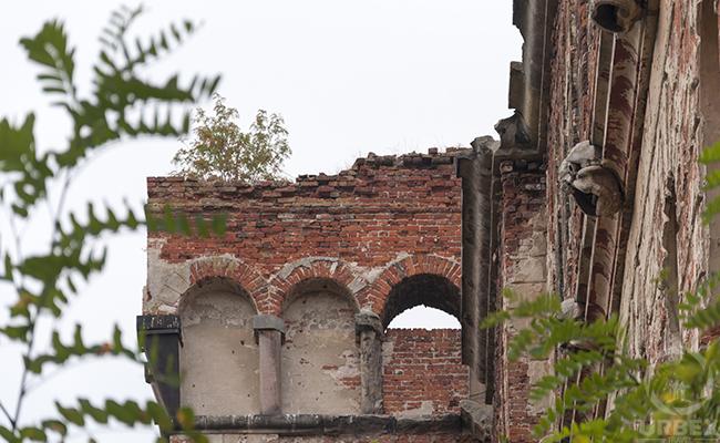 Brick ruins