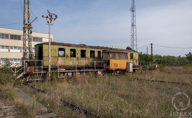 The abandoned Istvántelek Train Yard