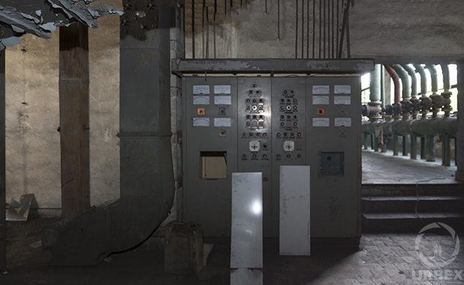 abandoned boiler room