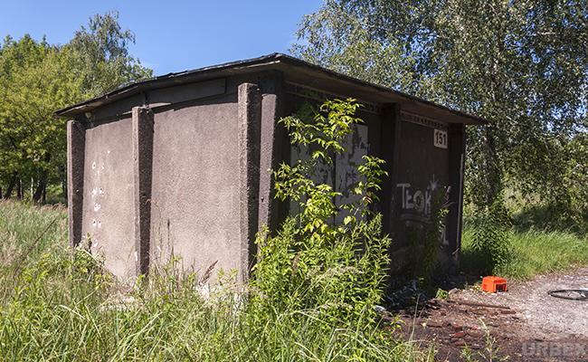 an abandoned boiler room