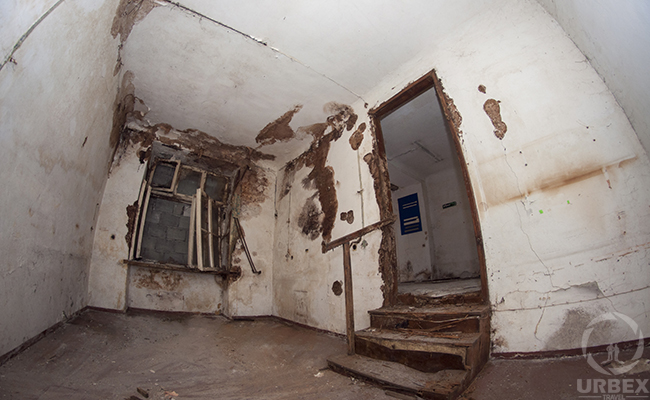decayed room in an ababndoned building