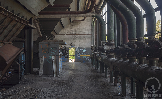pipes found during urban exploration