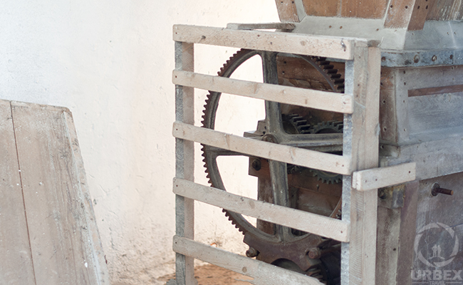 A Gear In An Abandoned Mill