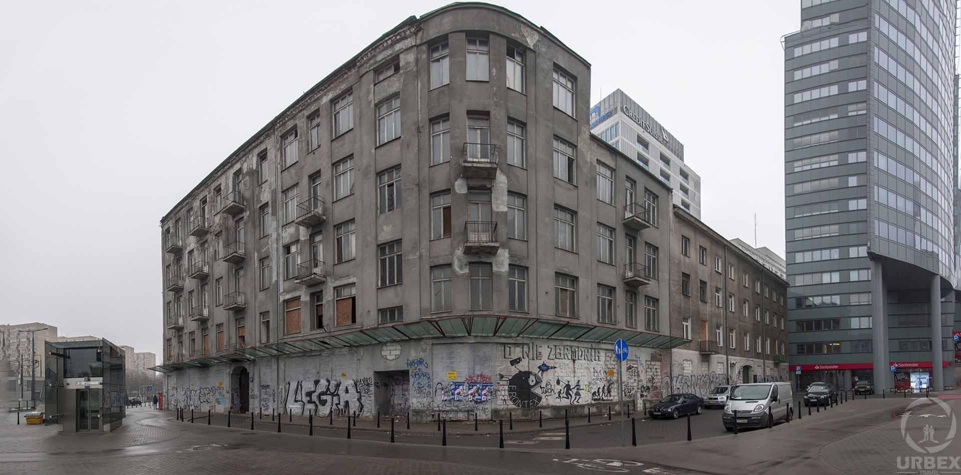 Abandoned Jewish Tenemet House Warsaw