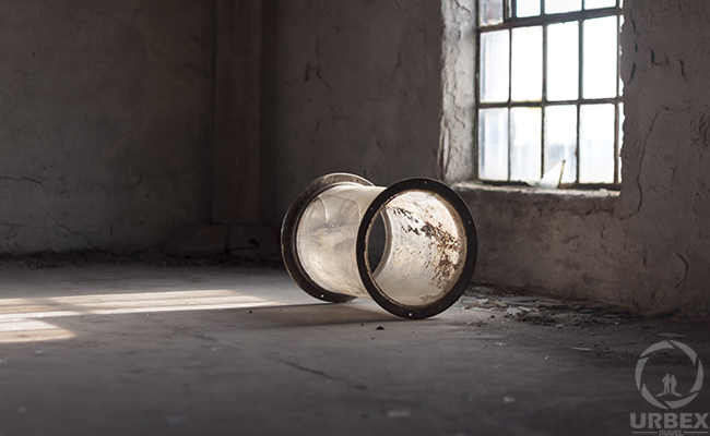 A Glass Device On Urbex