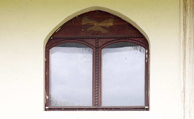 urbex window