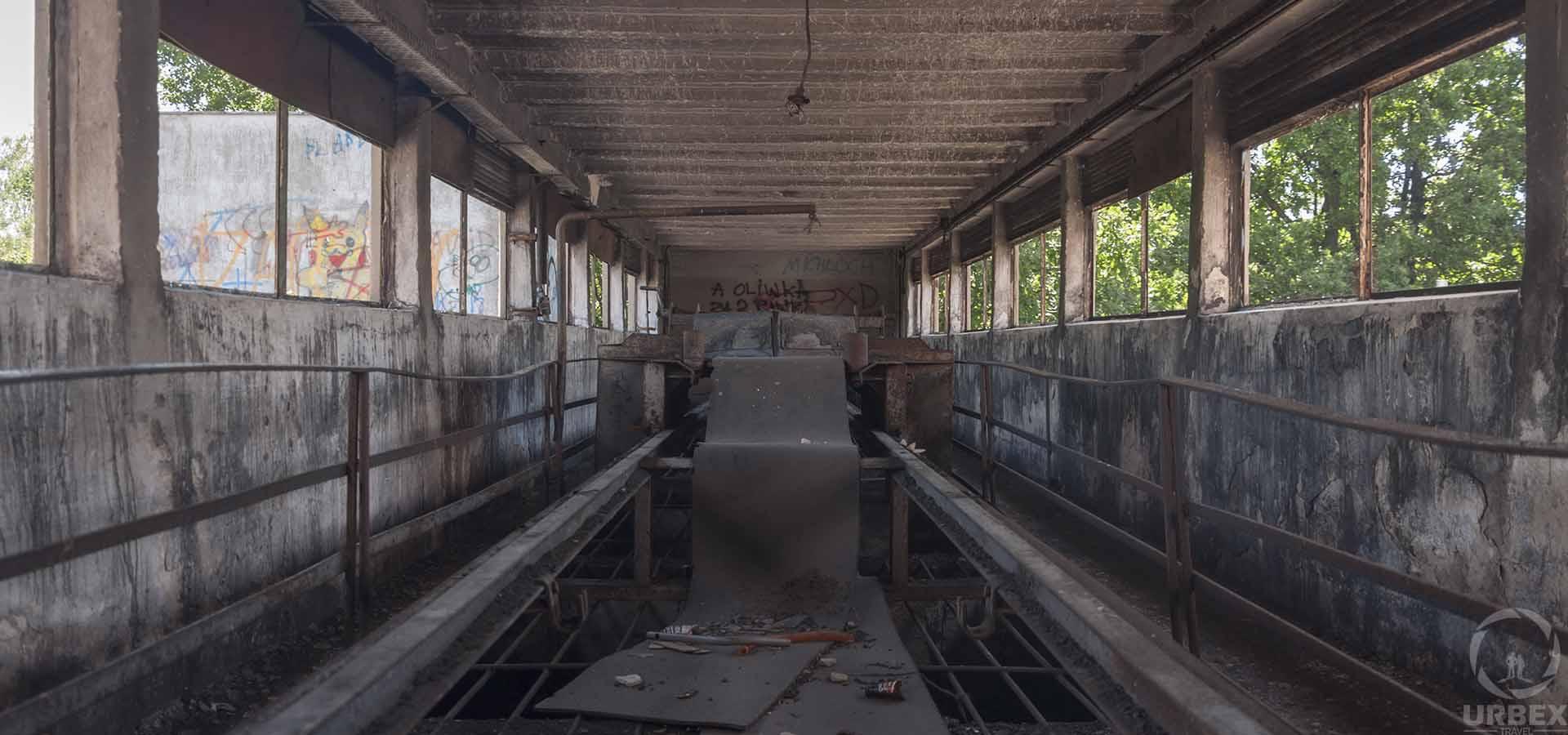 abandoned boiler room urbex in Warsaw Zielonka