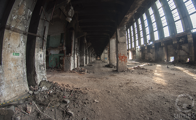 urbex in abandoned power plant