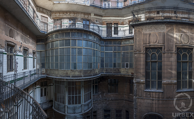 An Abandoned Palace in Budapest – Chateau Hidden Between Tenement Houses