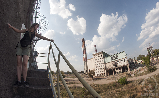 The Abandoned nuclear power plant