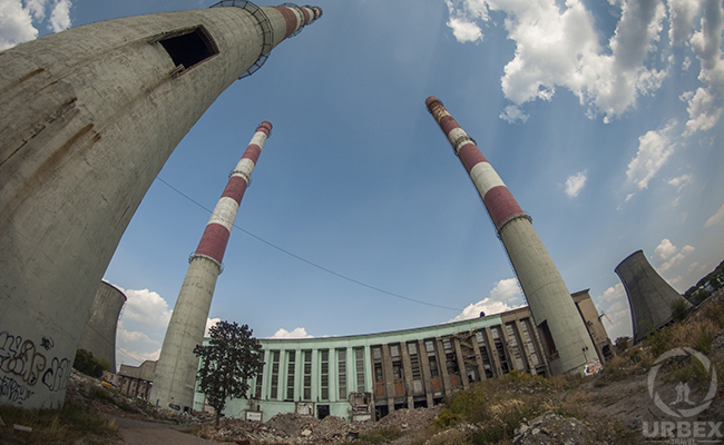 Abandoned power plant EC2 in Poland