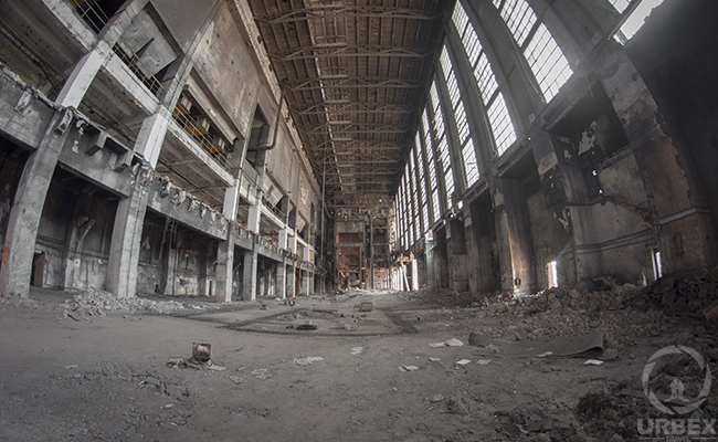 An Abandoned Power Plant