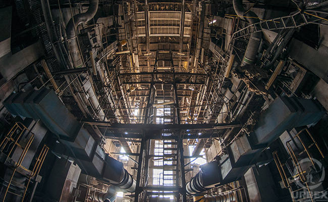 Abandoned power plant in poland urbex