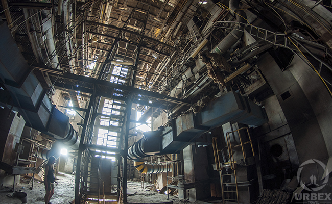 Industrial Abandoned places urbex