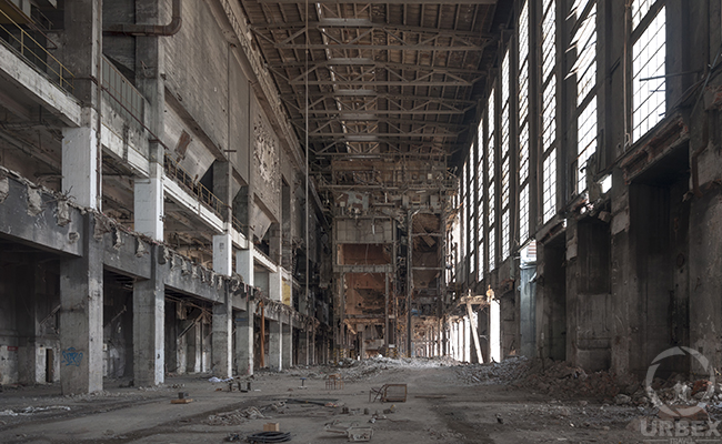 Abandoned Power Plant In Poland