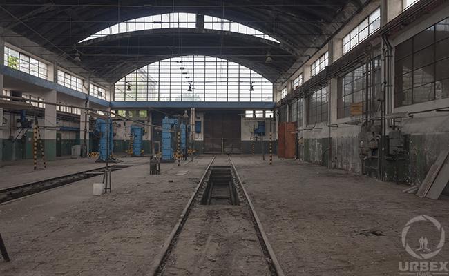 Abandoned workshop in poland