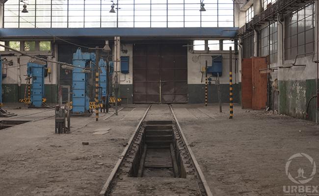 Inside abanconed factory