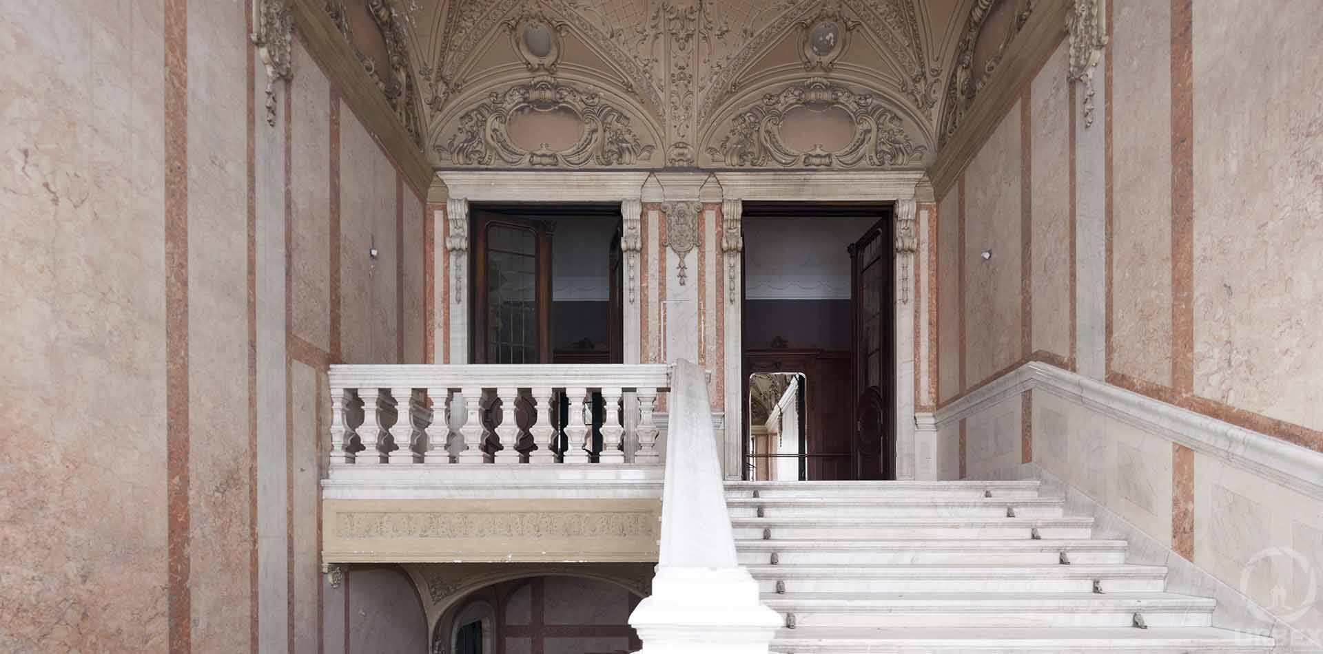 An Abandoned Adria Palace in Budapest