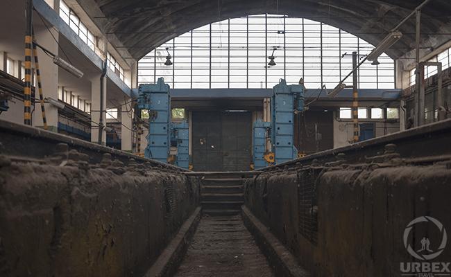 Abandoned Train Repair Station