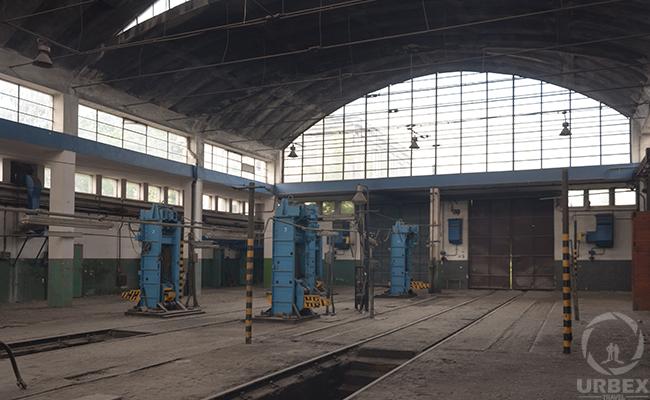 old forgotten workshop
