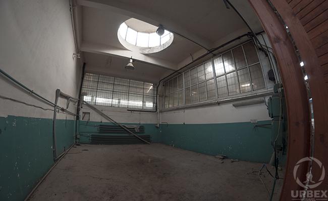 skylight in Abandoned WGW Odolany