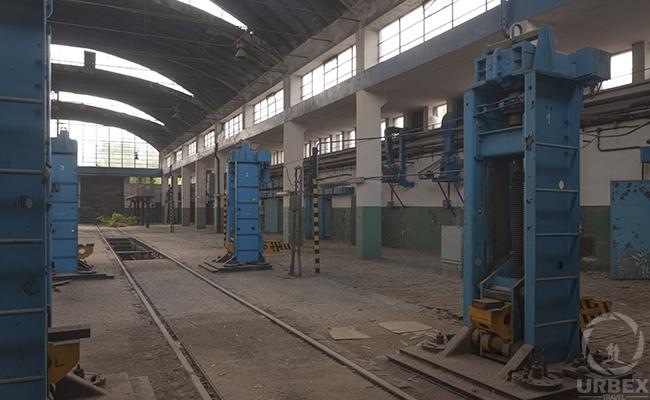 old abandoned workshop