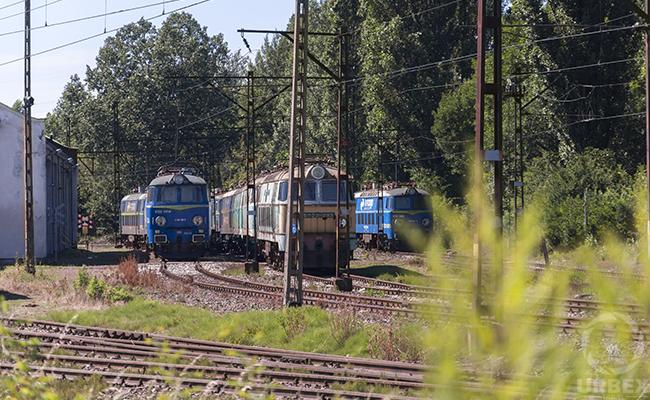 Trains in poland