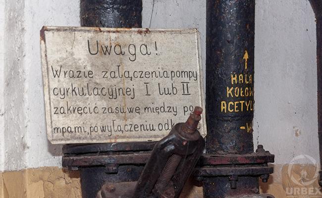inside an abandoned bunker in Warsaw