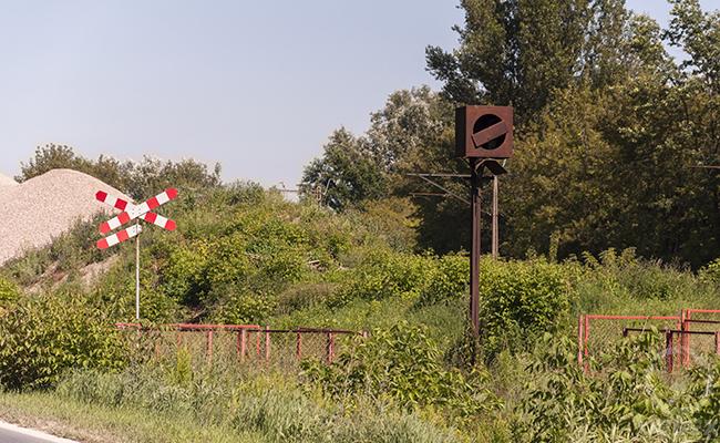 old railroad tracks
