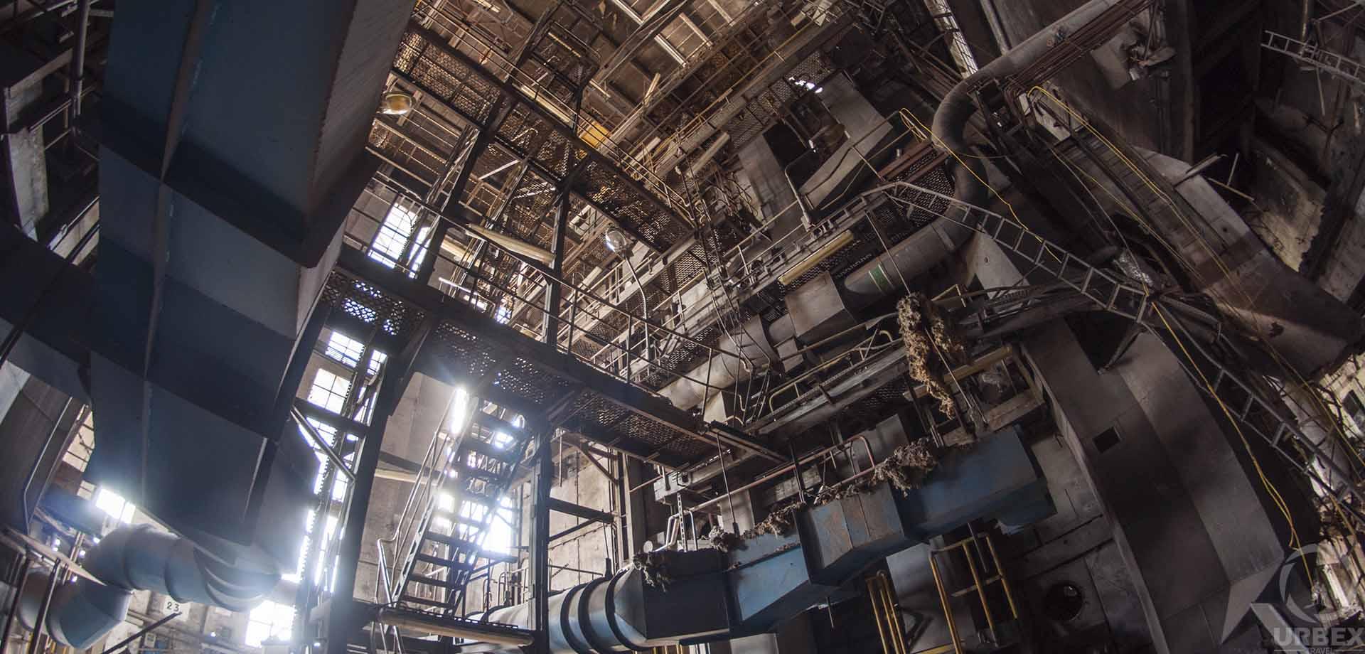 Abandoned EC-2 Power Plant