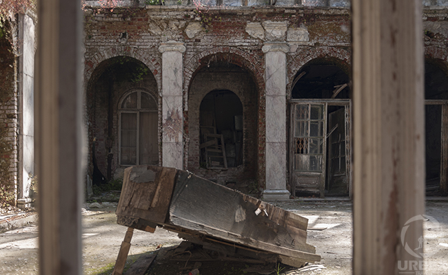 abandoned piano palace in europe