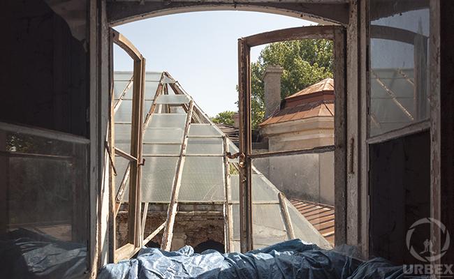 nice view through the window on urbex