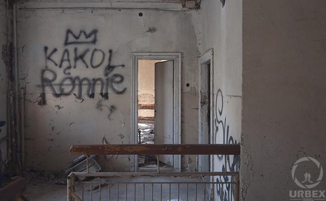 vandalism on urbex