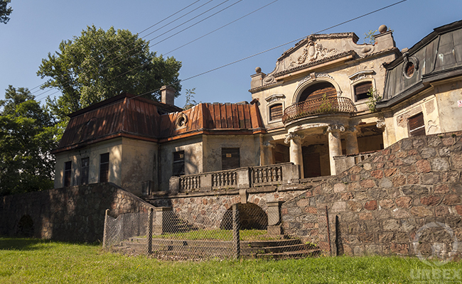 abandoned palace in poland urbec travel