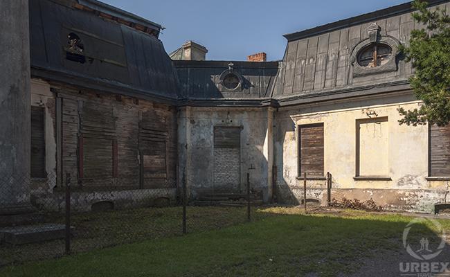 abandoned summer mansion