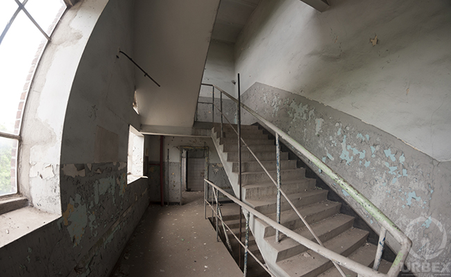 stairs in pollena factory warsaw