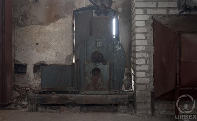 abandoned manufactory