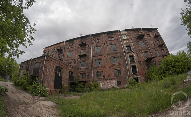 forgotten factory in warsaw