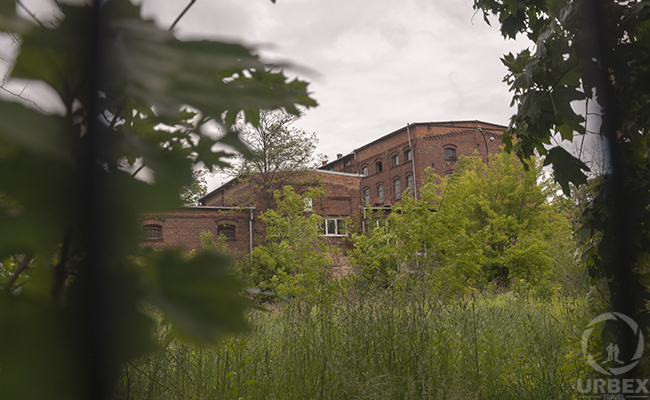 old perfume factory in poland