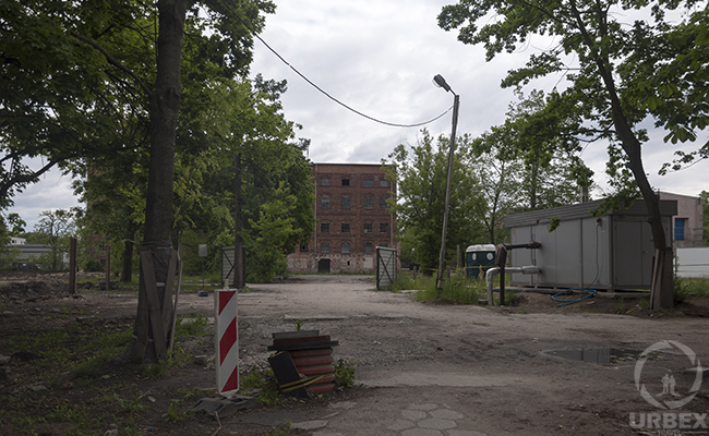 old factory exterior
