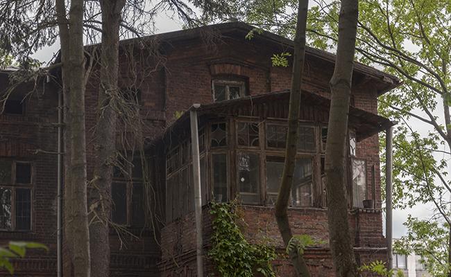 abandoned professor's villa